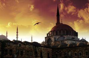Red Haghia Sophia by lhauert