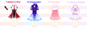 [ClOSED] Outfit Adoptable#2 by Black-Quose