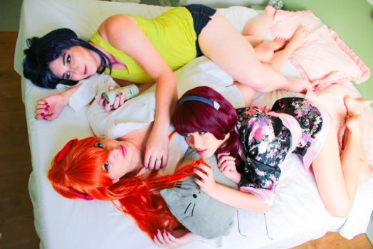 Sleepover by melcosplay