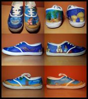 Disney Shoes I by Super-Pleb