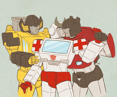G1 - Twins +  Ratch by ZolataLita