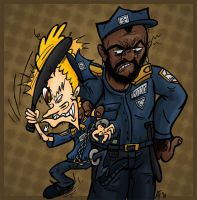 Mr.T and Mr.B: WTF of the LAW by GagaMan