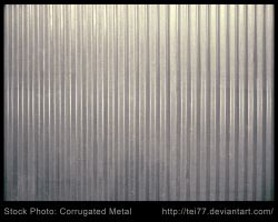 Corrugated Metal by tei77
