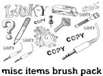 MISC ITEMS photoshop brushes by luther1000