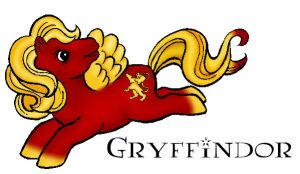 Gryffindor: My Little Pony v.1 by AltheaHarper
