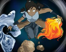 Legend of Korra : Avatar State by spike110