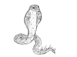 Little Tut, the King Cobra by Jester-of-the-Clown