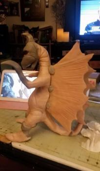 Gigan Work In Progress by TalesandFire