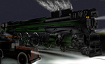 big 4-8-6 and truck 5 by dinodanthetrainman