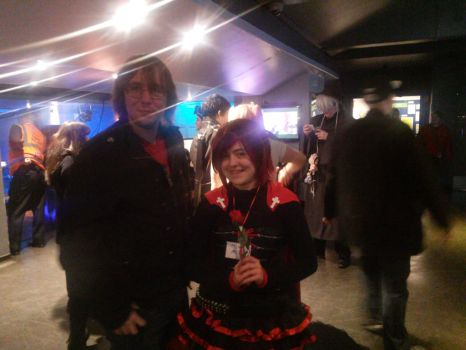 Me and Ruby Rose Cosplayer by The3Ryans