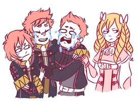 crier emblem by GravelPudding
