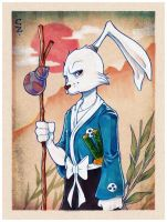 Usagi Yojimbo by chrissie-zullo