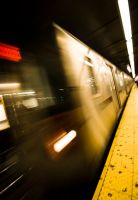 NYC Series - Ghost Trains by Katastrophey
