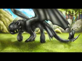 Toothless by Vyntresser