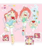 Candy Girl ADOPT: Eye Candy (Closed) by Ren-chin