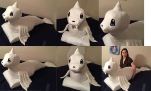 Dewgong Oversized Pokemon Plush! by GuardianEarthPlush