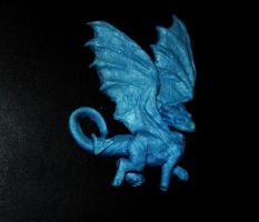 dragon pin by PaintedKelpie