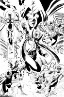 JSA inks for PUMMEL by IanJMiller