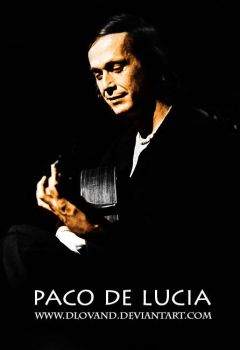 Paco De Lucia by DlovanD