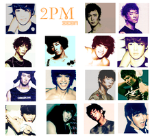 2PM Icons02, by TsukiNita