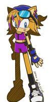Sonic Riders Style Riley by RileyTheHedgehog