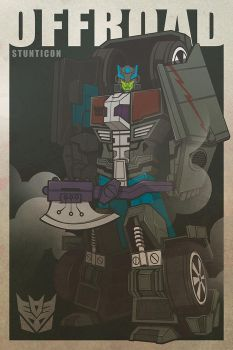 OFFROAD-Stunticon by The-Cosmic-Kid