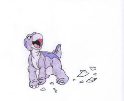 Littlefoot by thisfleshavenged