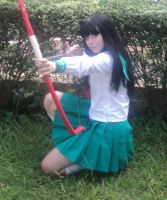 Kagome - in batle by dani-hime