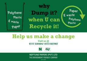 Why dump it when U can recycle by Devin87