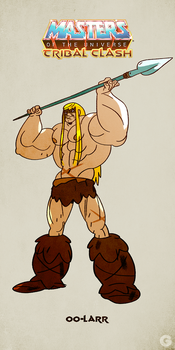 MotU - Tribal Clash: Oo-Larr by G-for-Galdelico