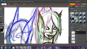 Alexyellow and Jinxx WIP by Jinnxx