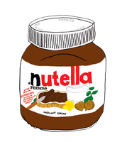 Nutella png. by Micabiebs99