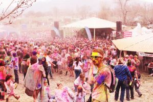 Festival Of Colors by MandaIrene