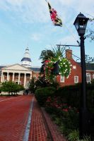 State Circle, Annapolis, MD by katseyecreations