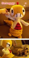 Crochet Scraggy by onac911