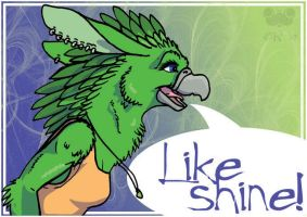 Likeshine Badge by therealbloodhound
