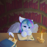 COMMISSION: The Reading Nook by EmilieArts