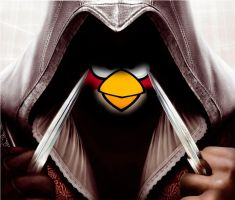 angry birds meets assasins creed by dectruction
