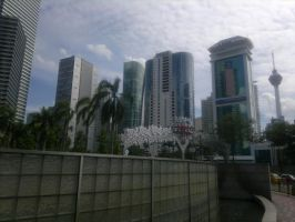 Skyscrapers at the Tropics by BlastedFen