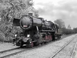 Steam loco 555.0153 by AnkaAI3