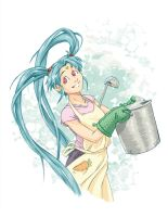 Cooking Princess by dagillus
