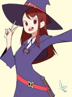 Little Witch Academia by Mboogy