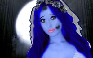 She became the Corpse Bride by karutimburtonfan