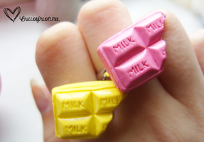 Choc Bar Rings by bruisepristinex
