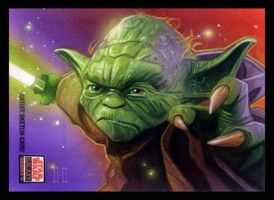 Star Wars Galaxy 5 Yoda by roberthendrickson