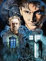 Doctor Who 50th Anniversary by Tabbancs