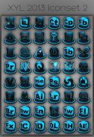 XYL 2013 Iconset 2 by xylomon