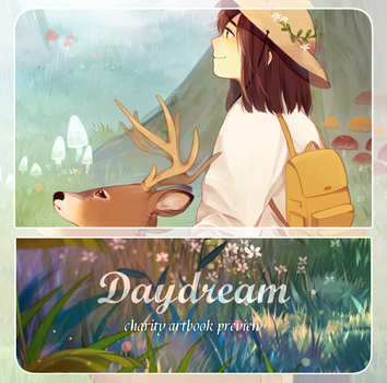 DayDream charity artbook preview by jauni