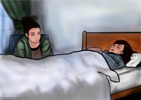The Nara Twins - Shikamaru and Shikako by janique-marie