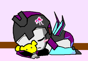 sleeping baby Slipstram ^^ by hotshotgirl